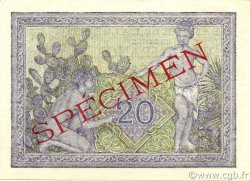 20 Francs ALGÉRIE  1944 P.092s pr.NEUF