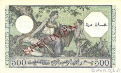 500 Francs ALGÉRIE  1943 P.093s NEUF