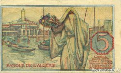 5 Francs ALGÉRIE  1944 P.094a SUP