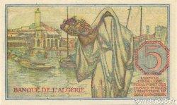 5 Francs ALGÉRIE  1944 P.094a SPL+