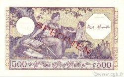 500 Francs type 1944 violet ALGÉRIE  1944 P.095s pr.NEUF