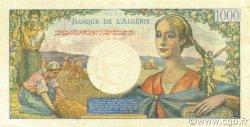 1000 Francs type 1945 réserve - Arnaud ALGÉRIE  1945 P.096 SPL