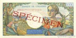 1000 Francs type 1945 réserve - Arnaud ALGÉRIE  1945 P.096s pr.NEUF