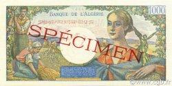 1000 Francs réserve ALGÉRIE  1945 P.096s pr.NEUF