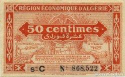 50 Centimes 1er tirage ALGÉRIE  1944 P.097a SPL+