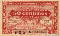 50 Centimes 1er tirage ALGÉRIE  1944 P.097a SPL