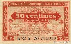 50 Centimes 1er tirage ALGÉRIE  1944 P.097a pr.NEUF