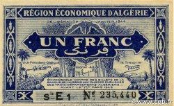 1 Franc 1er tirage ALGÉRIE  1944 P.098b pr.NEUF