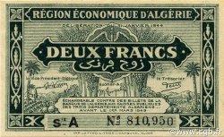 2 Francs 1er tirage ALGÉRIE  1944 P.099a SPL