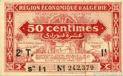 50 Centimes 2e tirage ALGÉRIE  1944 P.100 SUP
