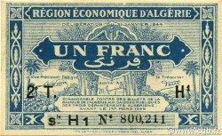 1 Franc 2e tirage ALGÉRIE  1944 P.101 pr.NEUF
