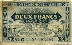 2 Francs 2e tirage ALGÉRIE  1944 P.102 TB