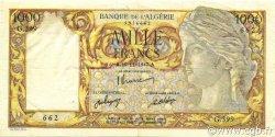 1000 Francs ALGÉRIE  1947 P.104 TTB+