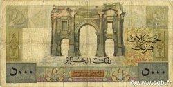 5000 Francs type 1946 Apollon ALGÉRIE  1947 P.105 B à TB