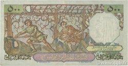 500 Francs type 1950 Bacchus ALGÉRIE  1955 P.106 TTB+
