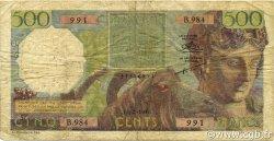 500 Francs ALGÉRIE  1956 P.106 TB+