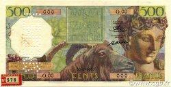 500 Francs ALGÉRIE  1950 P.106s TTB+