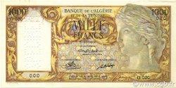 1000 Francs ALGÉRIE  1946 P.107s SPL