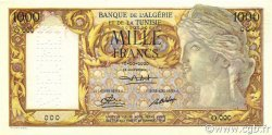 1000 Francs ALGÉRIE  1946 P.107s NEUF
