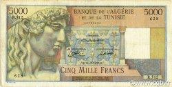 5000 Francs ALGÉRIE  1950 P.109a TB