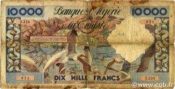 10000 Francs type 1952 mouettes ALGÉRIE  1956 P.110 B