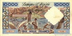 10000 Francs type 1952 mouettes ALGÉRIE  1956 P.110 TTB+