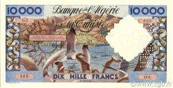 10000 Francs ALGÉRIE  1955 P.110s NEUF