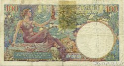 100 Francs type 1945 réserve - Starfel ALGÉRIE  1945 P.115 TB