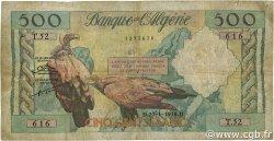 500 Francs type 1958 vautours ALGÉRIE  1958 P.117 B+