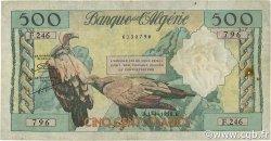 500 Francs type 1958 vautours ALGÉRIE  1958 P.117 TB