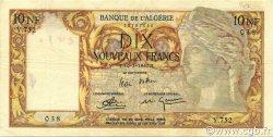 10 Nouveaux Francs type 1946 modifié 1959 ALGÉRIE  1961 P.119a TTB+