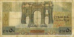 50 Nouveaux Francs ALGÉRIE  1959 P.120a B à TB