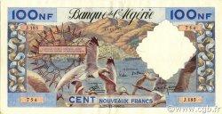 100 Nouveaux Francs type 1952 modifié 1959 ALGÉRIE  1960 P.121b SUP