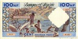 100 Nouveaux Francs type 1952 modifié 1959 ALGÉRIE  1961 P.121b SUP