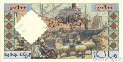100 Nouveaux Francs type 1952 modifié 1959 ALGÉRIE  1959 P.121s pr.NEUF