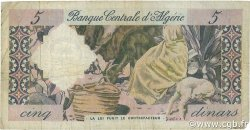 5 Dinars ALGÉRIE  1964 P.122a B à TB