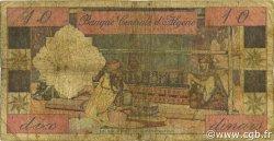 10 Dinars ALGÉRIE  1964 P.123a B+