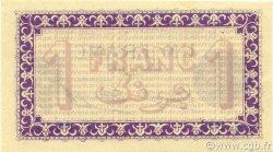 1 Franc ALGÉRIE Alger 1914 JP.137.01 NEUF