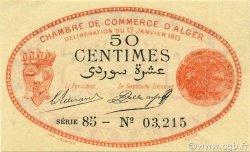 50 Centimes ALGER ALGÉRIE ALGER 1915 JP.137.05 pr.NEUF