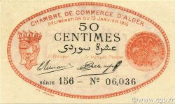 50 Centimes ALGÉRIE Alger 1915 JP.137.05 NEUF