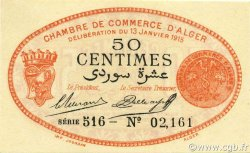 50 Centimes ALGER ALGÉRIE Alger 1915 JP.137.05 NEUF