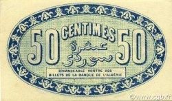 50 Centimes ALGER ALGÉRIE ALGER 1915 JP.137.08 SUP+