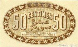 50 Centimes ALGÉRIE Alger 1915 JP.137.09 SUP+