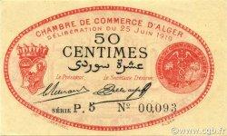 50 Centimes ALGÉRIE Alger 1919 JP.137.11 pr.NEUF