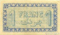 1 Franc ALGER ALGÉRIE ALGER 1919 JP.137.12 SPL