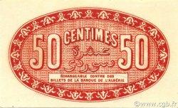 50 Centimes ALGÉRIE Alger 1920 JP.137.13 pr.NEUF