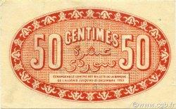 50 Centimes ALGER ALGÉRIE ALGER 1920 JP.137.16 SUP