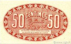 50 Centimes ALGÉRIE Alger 1921 JP.137.19 SPL