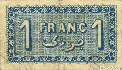1 Franc ALGER ALGÉRIE ALGER 1922 JP.137.24 TB+