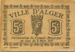 5 Centimes ALGÉRIE Alger 1917 JPCV.05v SPL